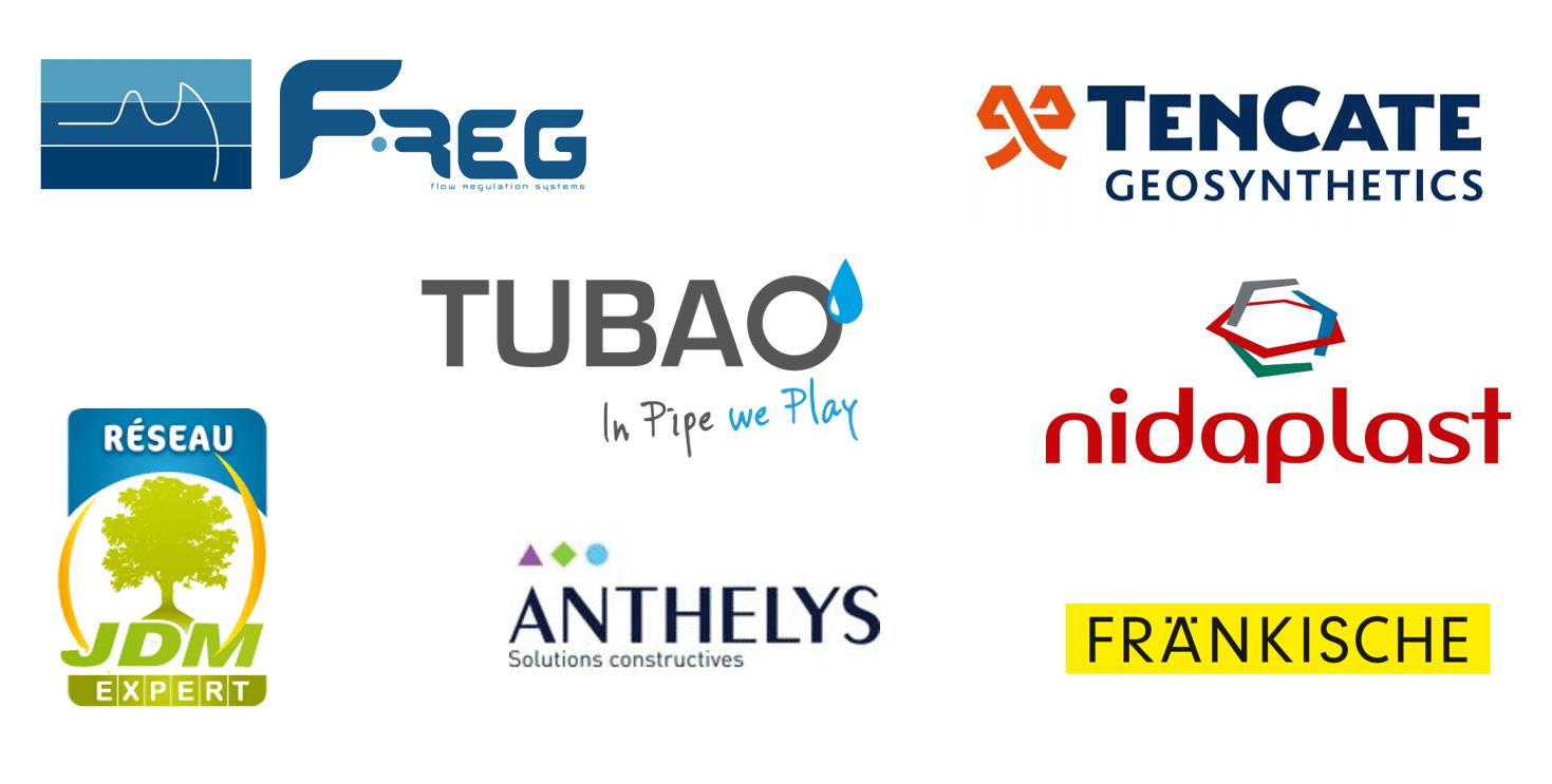 7 logos entreprises exposantes