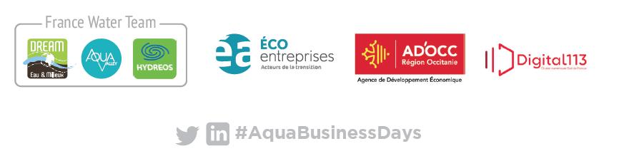 Bandeau partenaires Aqua Business Days